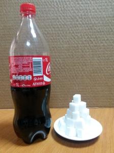 coca cola zahar